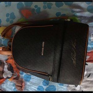 Handbags - Michael Kors Backpack With signature